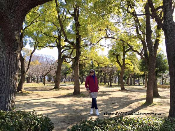 Adibah karimah di Osaka Castle