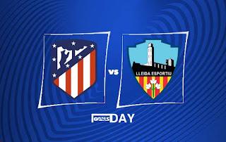Atletico Madrid vs Lleida – Highlights