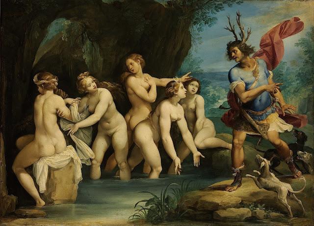 Cavalier d'Arpino: Diana e Atteone