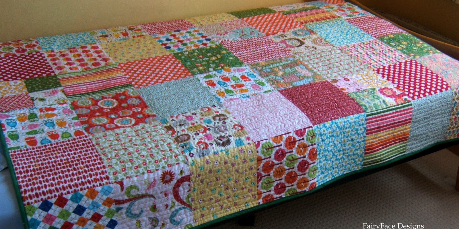 After deciding which quilt size best fits your bed add approximately 6