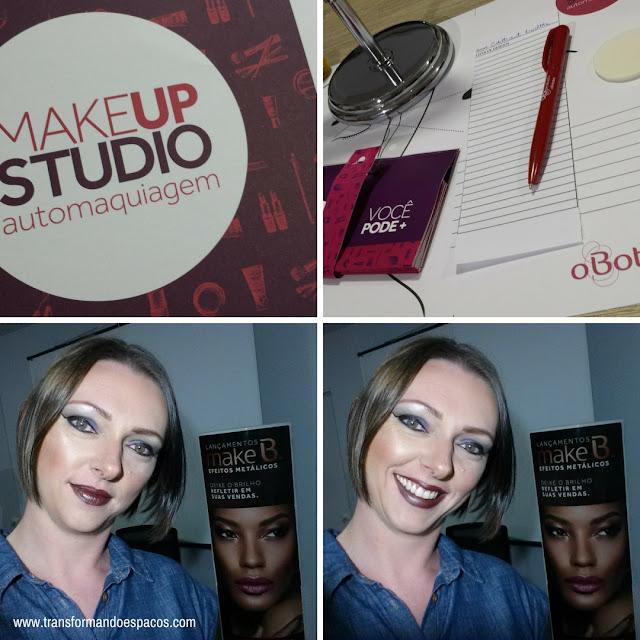 Como foi o Curso MakeUp Studio de o Boticário?!