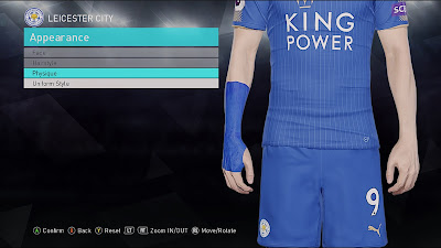PES 2018 J. Vardy Writs Strapping By Sofyan Andri