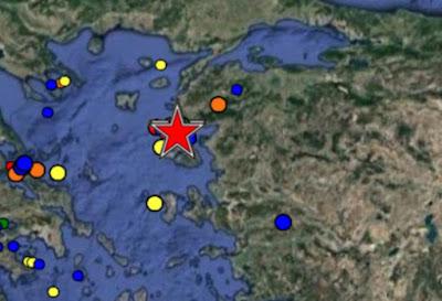 Σεισμός 5,3 Ρίχτερ ανοιχτά της Λέσβου - Σείεται η γη!