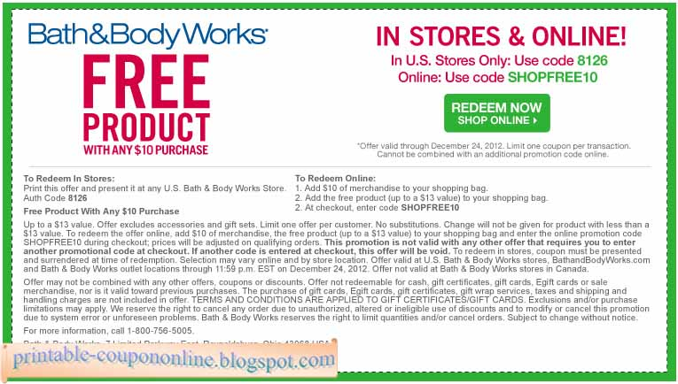 All Active Bath and Body Works Promo Codes & Coupons - Up To $10 off in December 2018