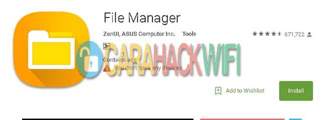 Apps asus file manager