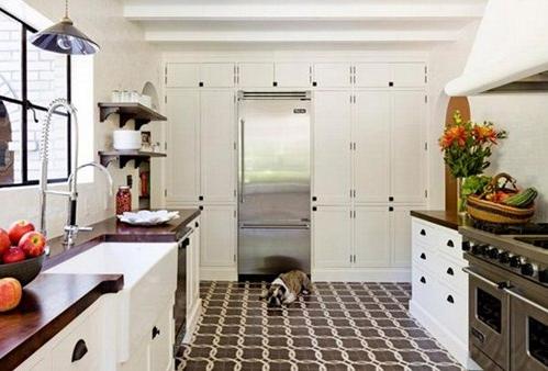 Model Keramik Dapur Minimalis Pada Lantai dan Dinding Dapur