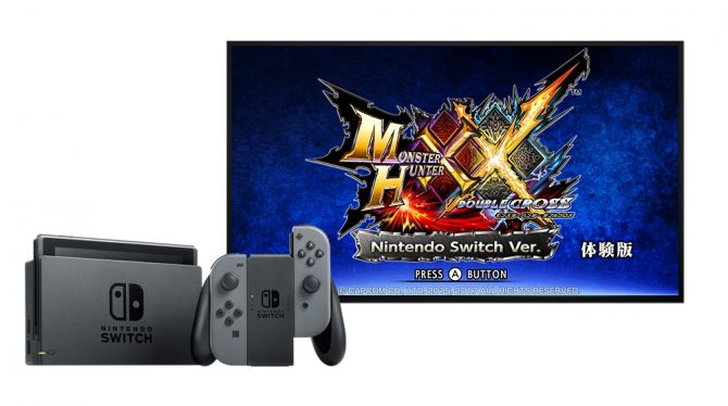 Se anuncia demo de Monster Hunter XX de Switch con tres monstruos