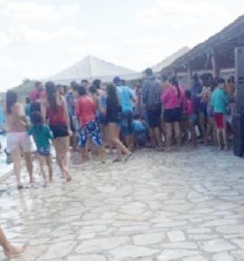 Criança de Picuí sofre princípio de afogamento em piscina na cidade de Nova Palmeira