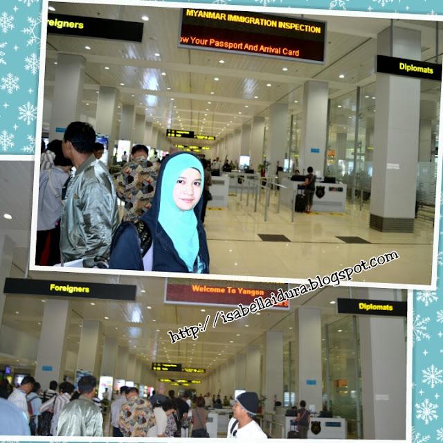 Yangon, airport yangon, burma, myanmar, penginapan bajet