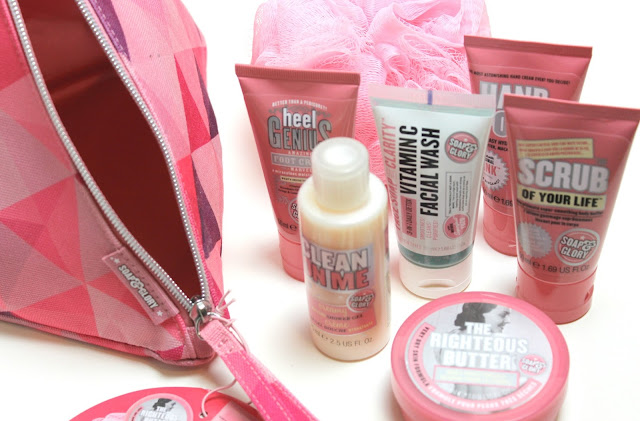 Soap & Glory Pink Pamper Review