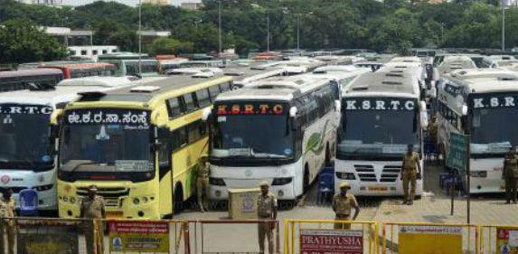 கர்நாடகா, கேரளாவில் இருந்து தமிழகத்துக்கு இயக்கப்படும் பேருந்துகள் நிறுத்தம்