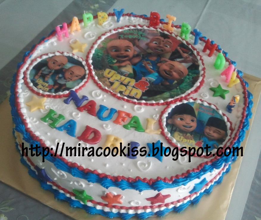 Miracookiss: Upin-ipin Cake