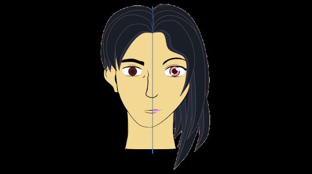Anima Dibujos: Diferencias Entre Rostros Hombre/mujer