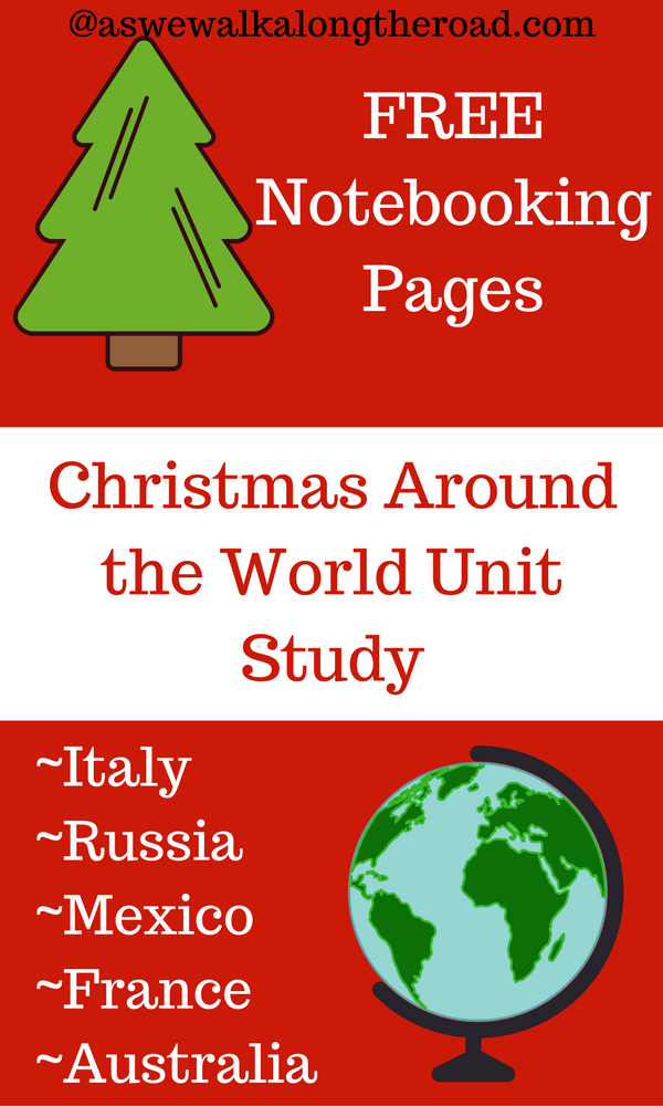 Christmas around the world unit study