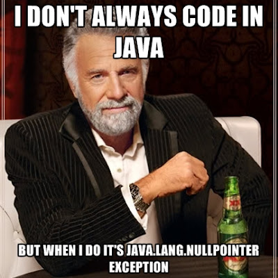 How to solve java.lang.NullPointerException in Java