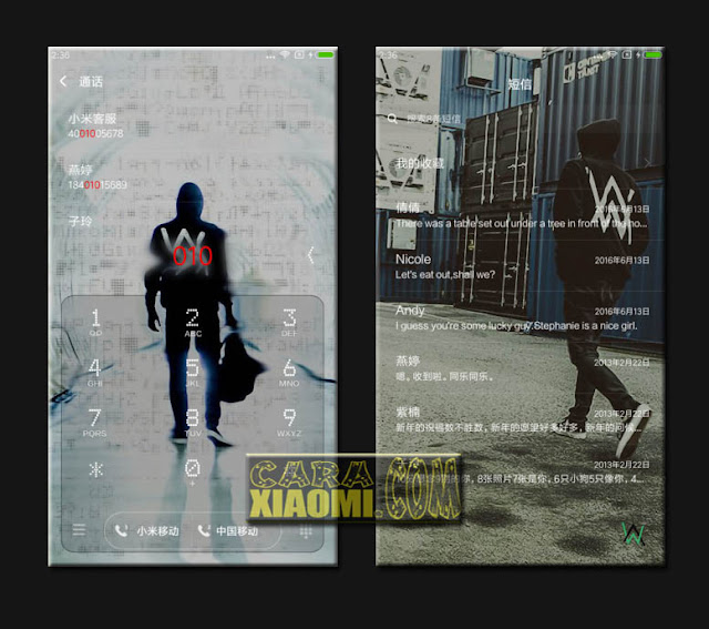 Download Thema Xiaomi Alan Walker Faded For MIUI Mtz Versi Terbaru