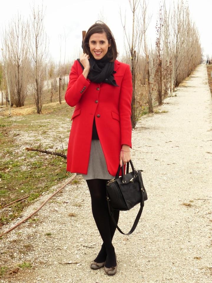 Abrigo Rojo en Navidad