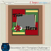 Template : Dec.2017 Challenge Template by Miss Fish Template