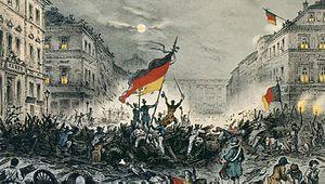 Deutschen Revolution 1848