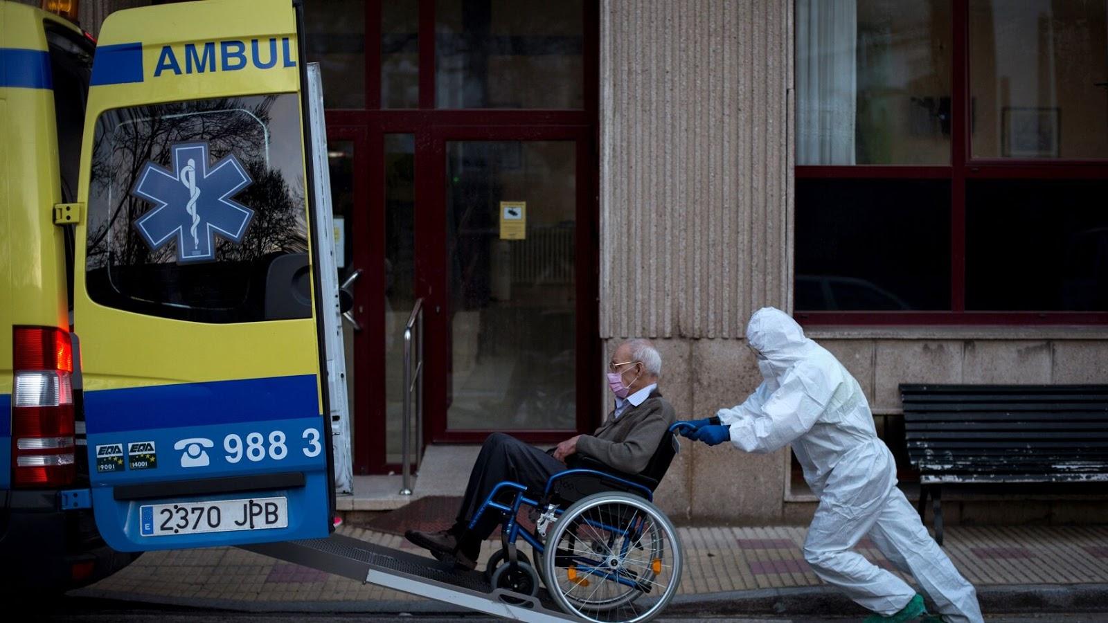 Para la OMS, la mitad de las muertes en Europa fueron en geriátricos
