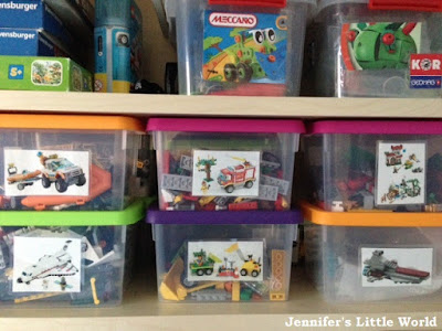 How I store our Lego in sets