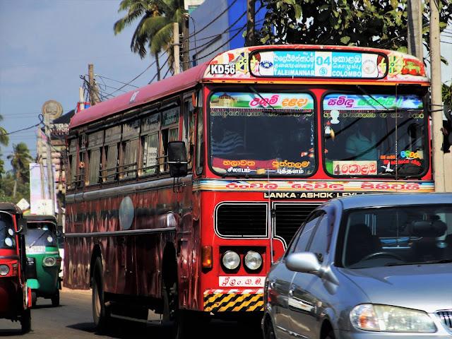 Sri Lanka i transport: Autobus, pociąg, tuk-tuk czy taksówka?