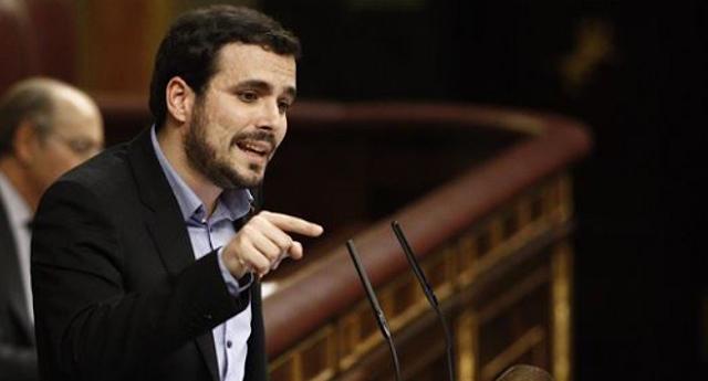 """Alberto Garzón a Rajoy: """"Usted lidera la organización más corrupta"""""""