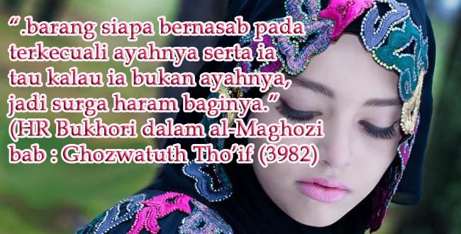Wahai Istri! Ini Lah Dosa Istri Jika Menambahkan Nama Suami Dibelakang Nama Mu... Silakan Sebarkan!!