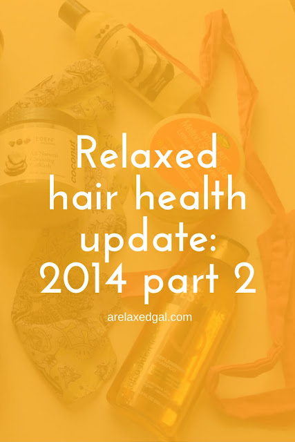 2014 was the year I built a regimen with products that my relaxed hair liked. See which products stayed in my regimen as the year closed out. | arelaxedgal.com