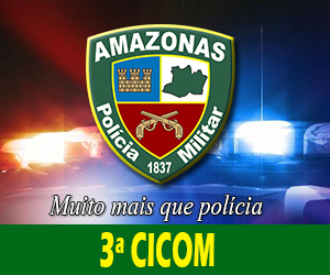 3ª CICOM (CPA Sul) deteve dupla por porte ilegal de arma de fogo no Bairro Japiim