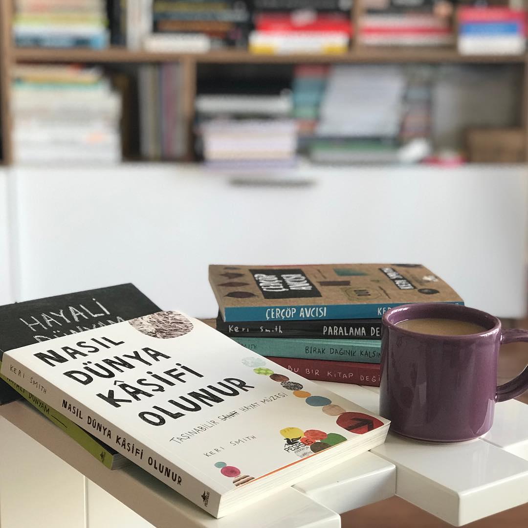 Yaratici Dusunmeyi Gelistiren Kitaplar Listesi (1): Keri Smith Kitaplari (1) (Kitap)