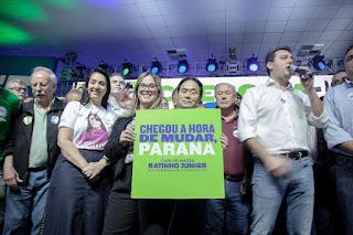 Convenção estadual do Avante com Marisa Lobo