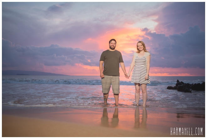 Maui honeymoon portrait