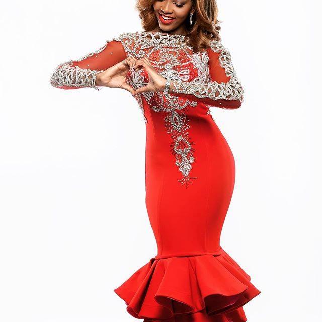 Happy valentine form Miss Nigeria