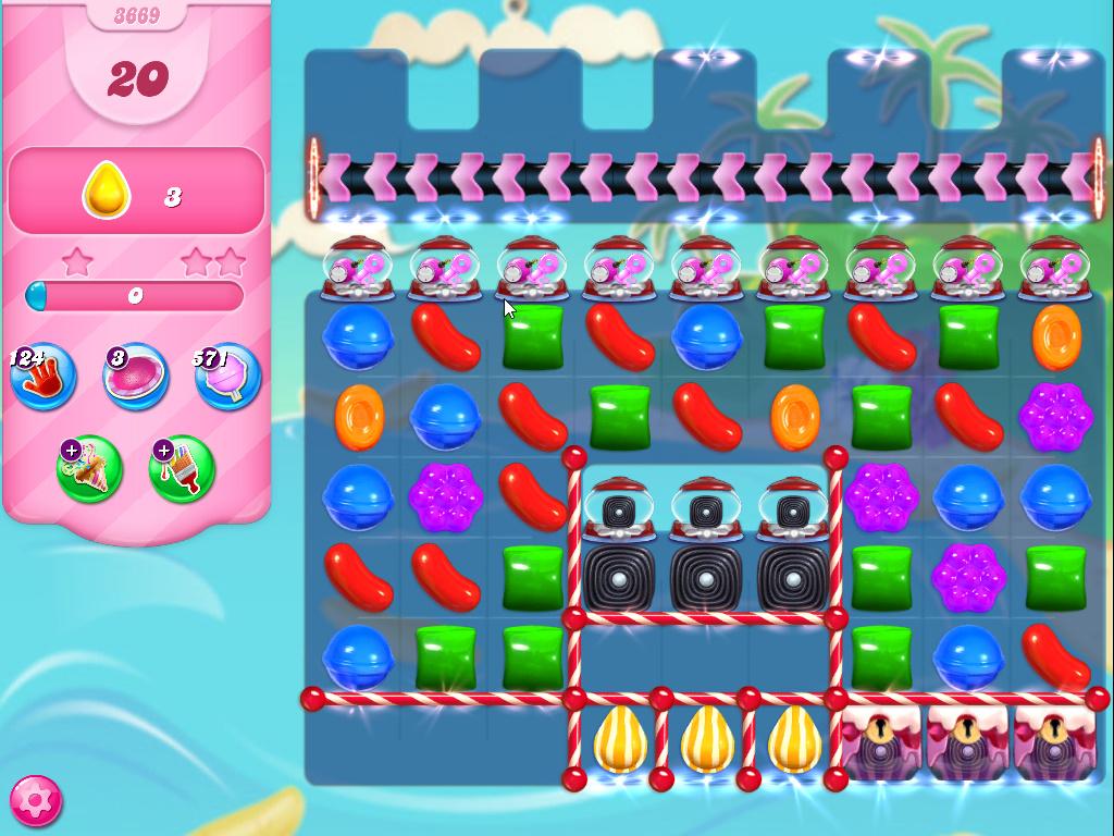 Candy Crush Saga level 3669
