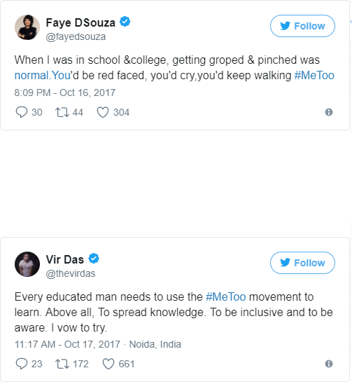 """#MeToo: Lady Gaga, Mallika Dua And Other Celebrities Share Their """"Sexually Harassed"""" Experiences On Social Media"""