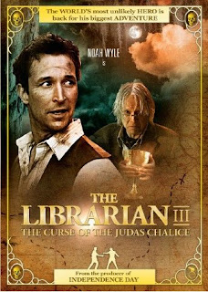 The Librarian The Curse of the Judas Chalice (2008) ภาค 3