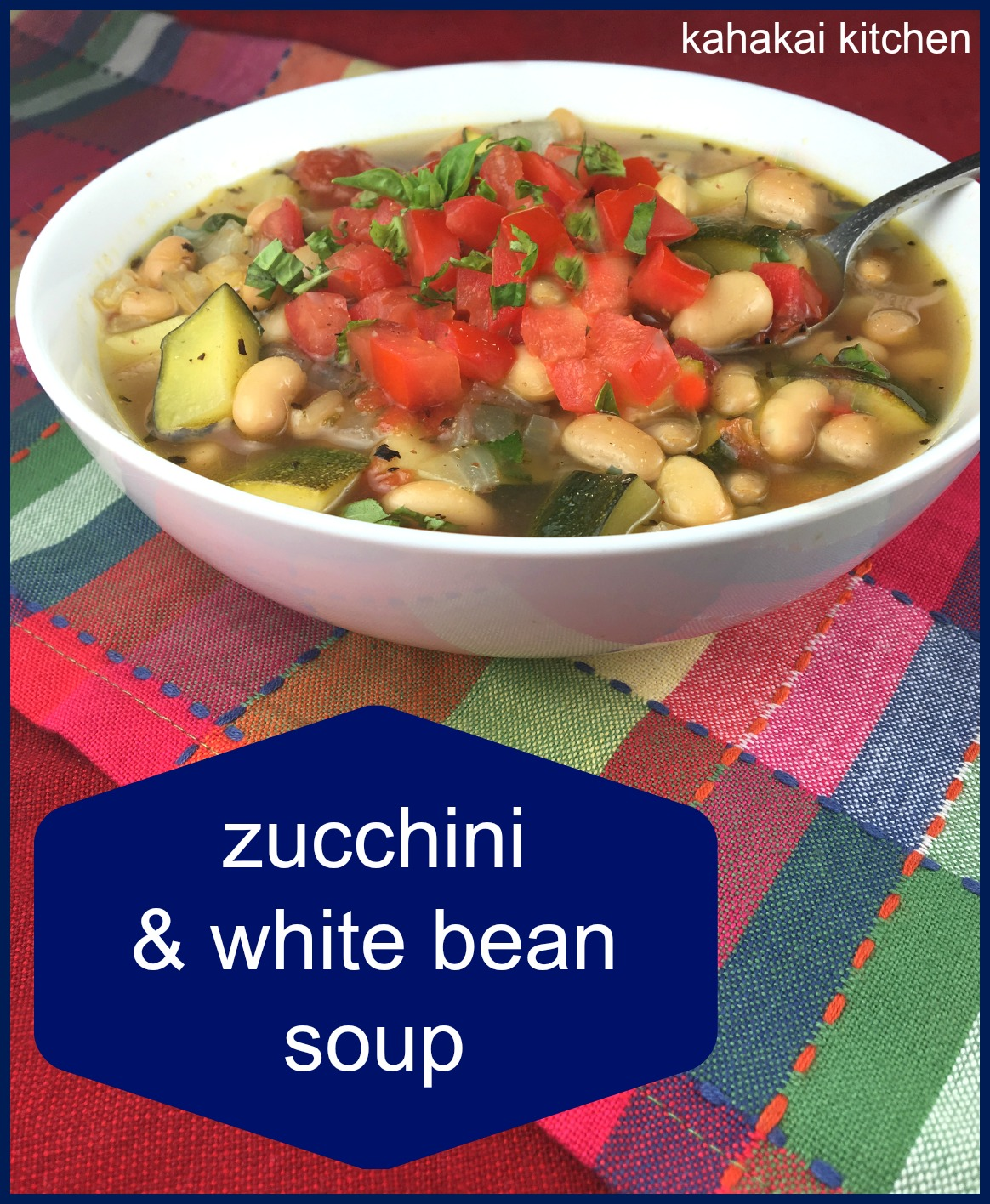 Tomato, Zucchini, White Bean And Basil Soup Recipes — Dishmaps