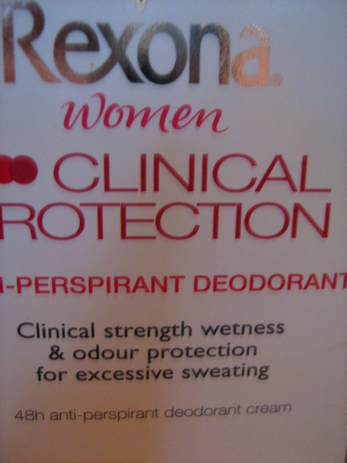 rexona clinical protection instructions