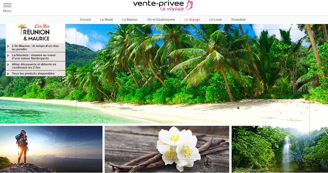 Mosaique de paysages: la Réunion et Maurice Océan Indien