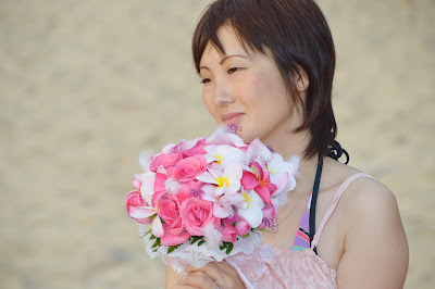 Pretty Japanese Bridesmaid