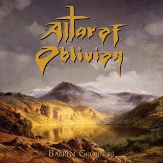 """Ακούστε το ep των Altar of Oblivion """"Barren Grounds"""" που κυκλοφόρησε τον Αύγουστο"""