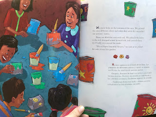 "A look inside ""From North to South/Del Norte al Sur"", an elementary age book about deportation."