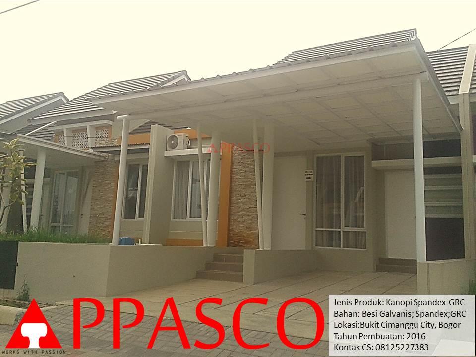 Kanopi Spandex GRC di Cimanggu City Bogor