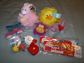 budget friendly Easter basket goodies