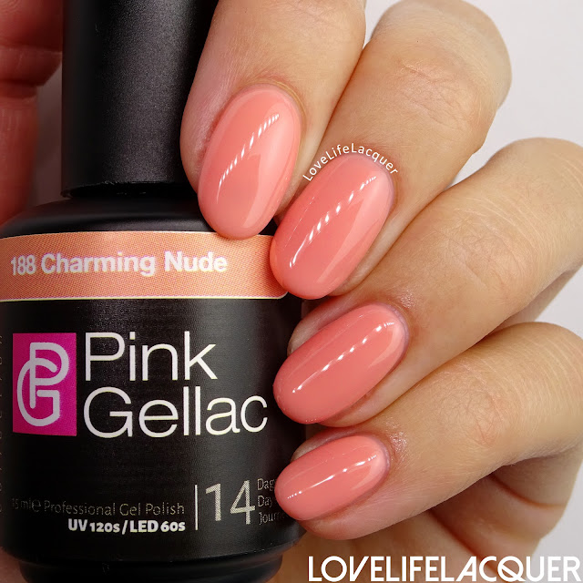 Pink Gellac Blossom Collection Charming Nude
