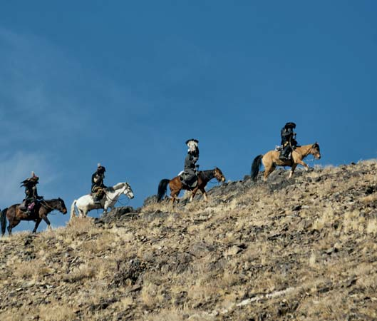 Los kazajos fueron los primeros seres humanos en domesticar caballos
