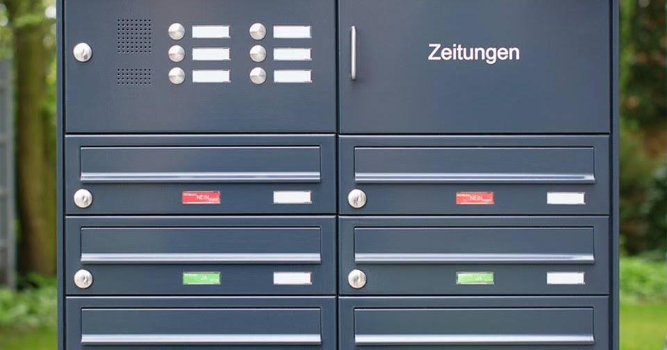 Briefkasten Konfigurator KNOBLOCH Briefkastenanlagen
