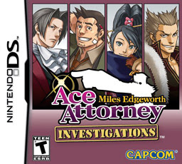 Ace Attorney Investigations: Miles Edgeworth NDS, español, mega