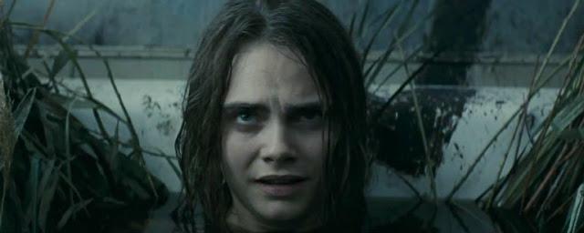 Cara Delevigne en un momento de la película